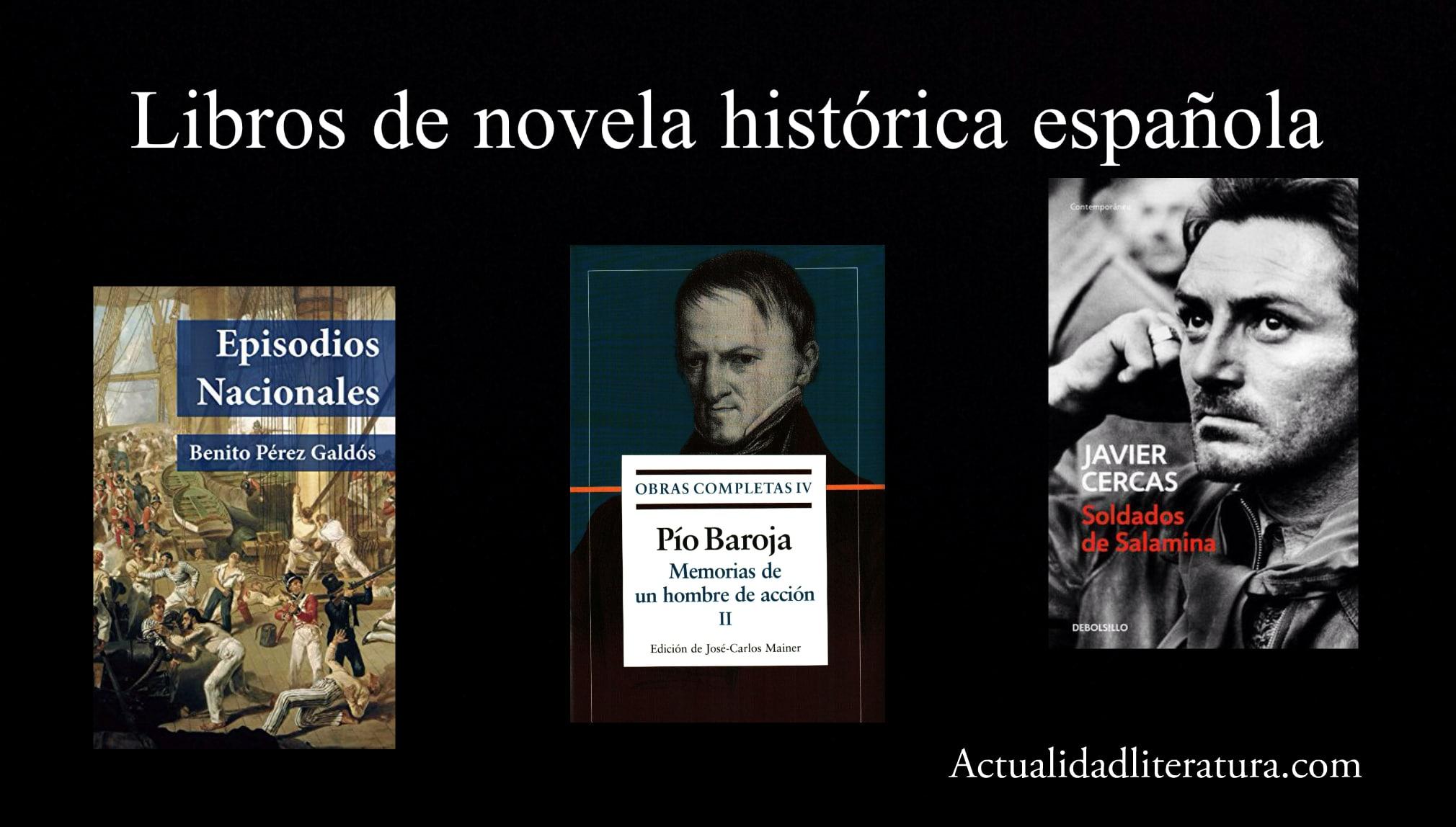 Libros de novela histórica española