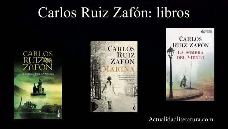 Carlos Ruiz Zafón: libros