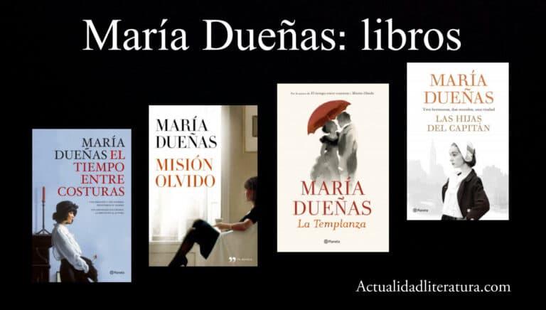 María Dueñas: libros