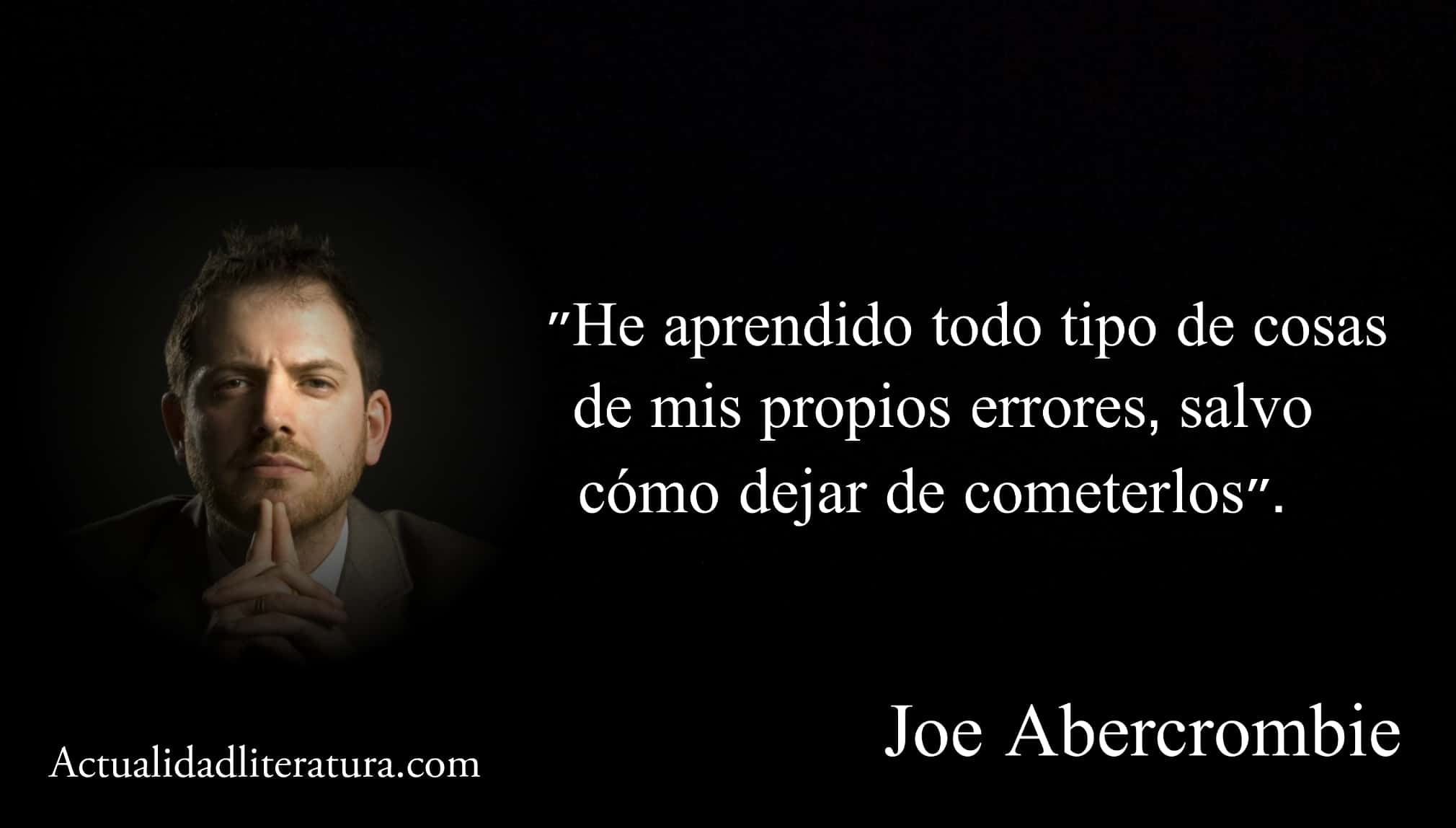 Frase de Joe Abercrombie