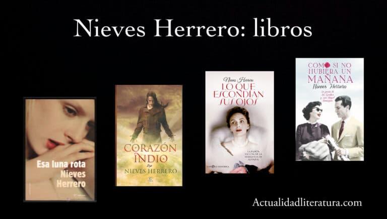 Nieves Herrero: libros