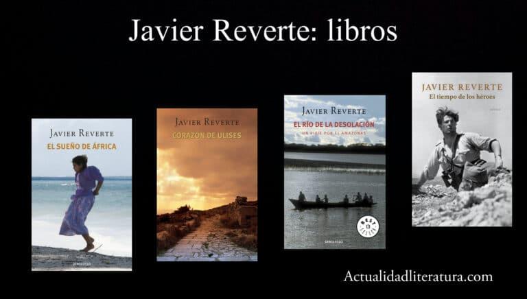 Javier Reverte: libros