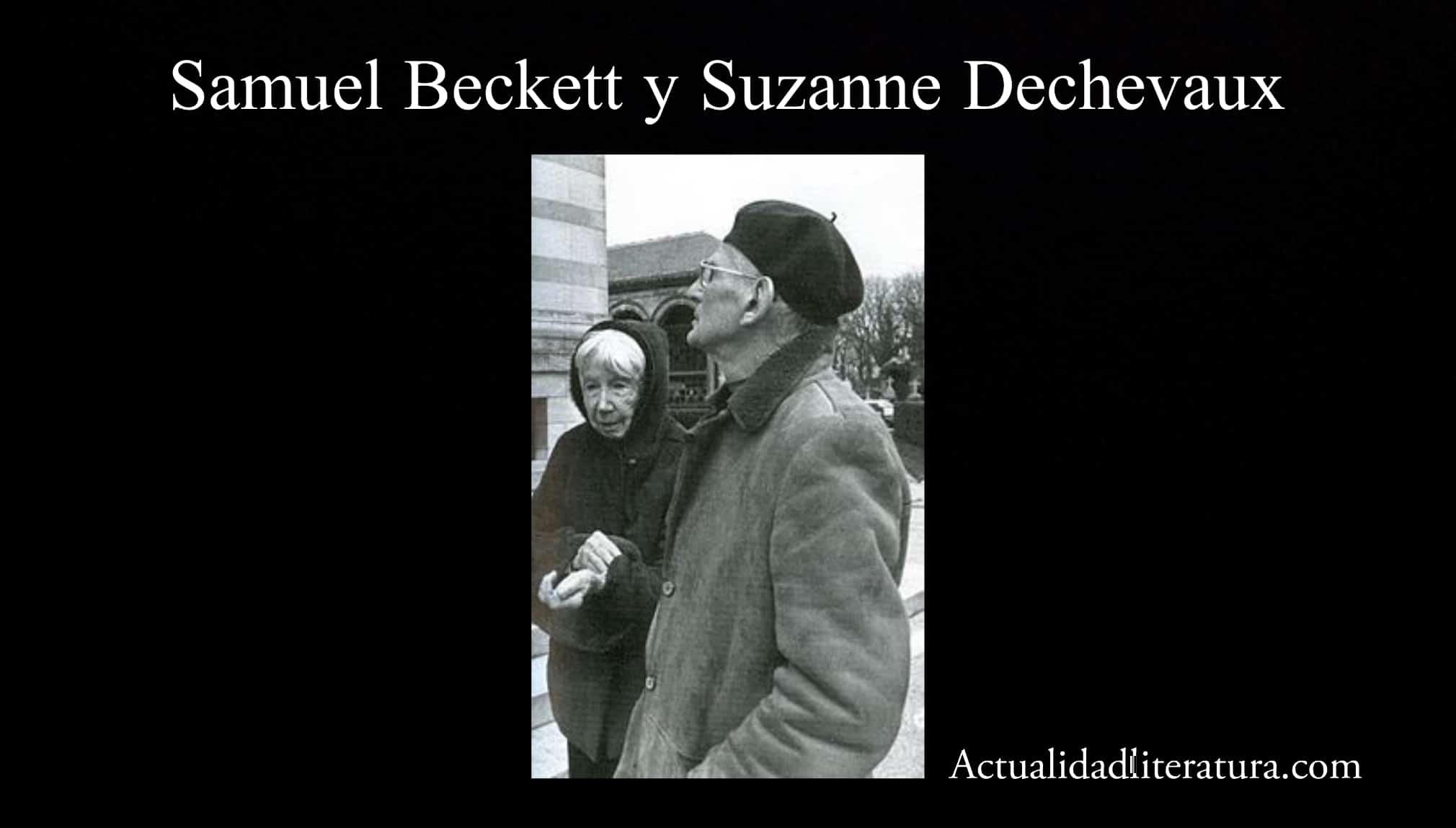 Samuel Beckett y Suzanne Dechevaux
