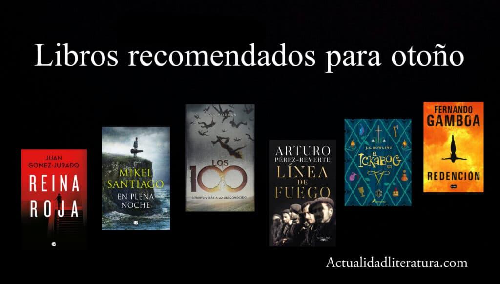 Libros recomendados para otoño
