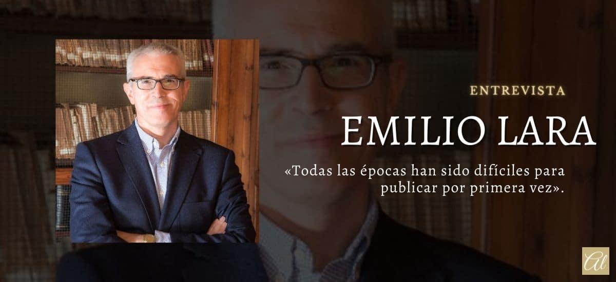 Emilio Lara. Entrevista al autor de Centinela de los sueños