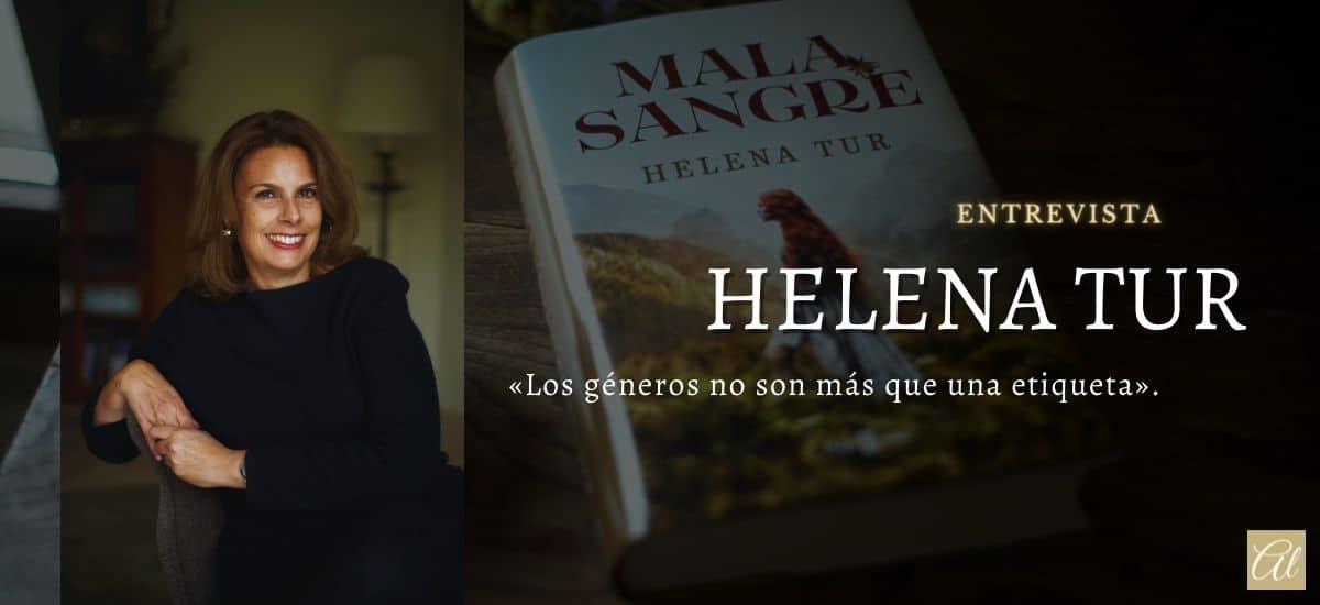Helena Tur. Entrevista con la autora de Mala sangre