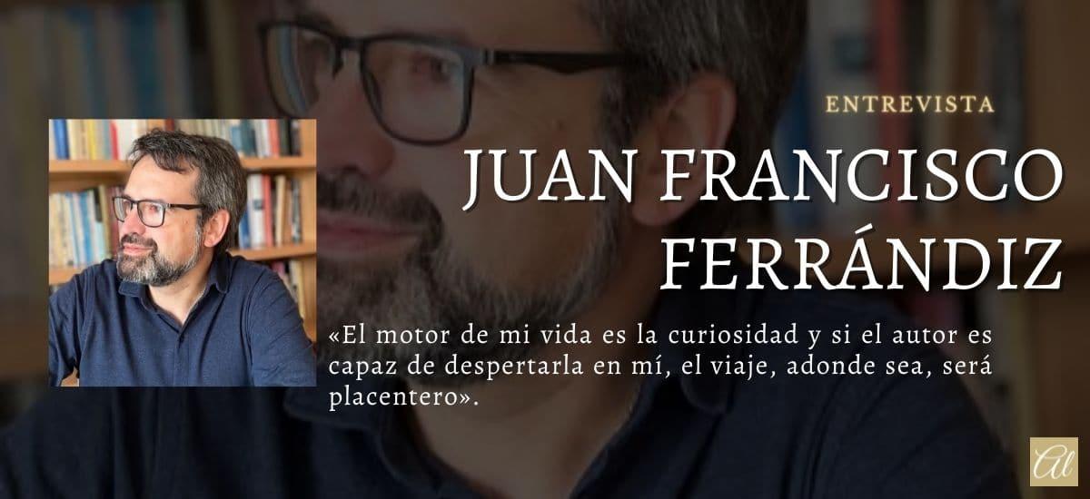 Juan Francisco Ferrándiz. Entrevista con el autor de El juicio del agua